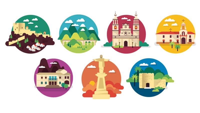 Guías Turísticas Olvera - Mapa situación y gastronomía