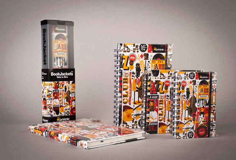 Diseño de producto Jazzgrafía para Printnic