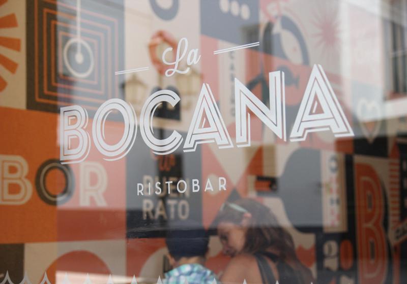La Bocana Restaurante - Diseño de imagen y mural