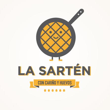 La Sartén, diseño de logotipo e identidad corporativa