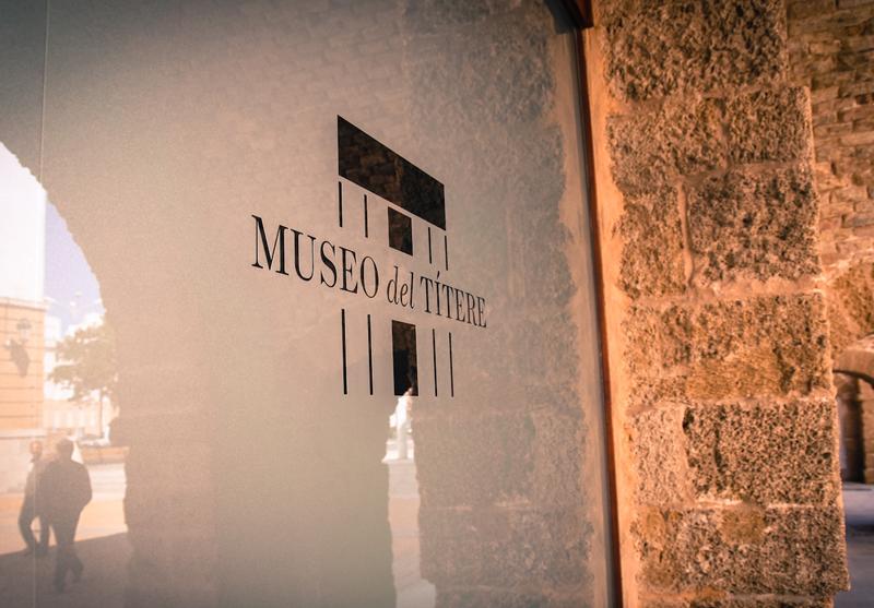 Museo del títere, diseño de logotipo y aplicaciones museísticas
