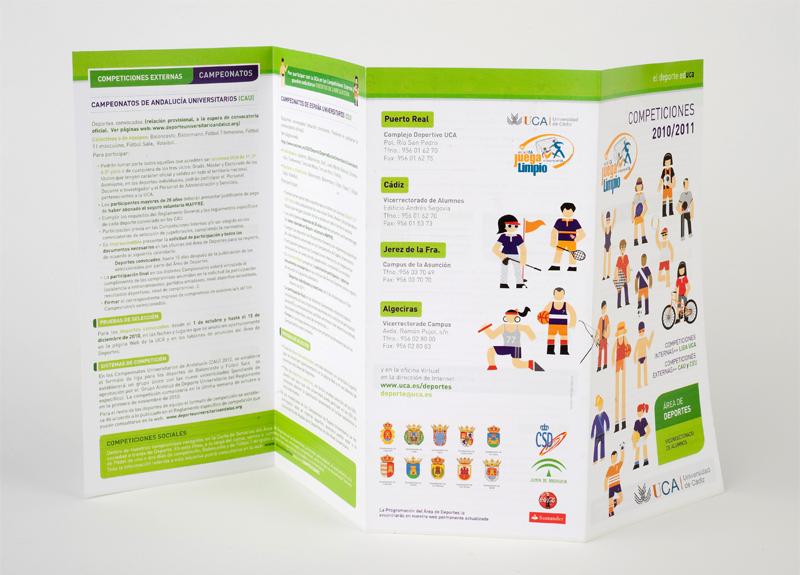Diseño Programa de Actividades UCA - deportes