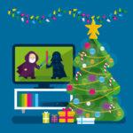 Movistar navidad, diseño de campaña - Rebombo estudio