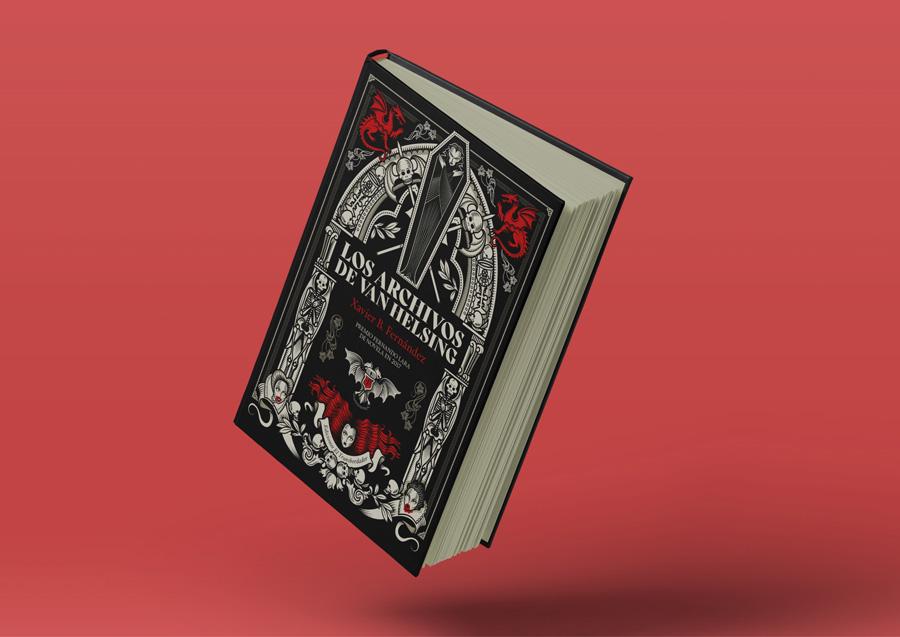 ilustración libro drácula