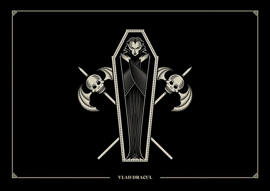 Ilustración Van Helsing Rebombo estudio