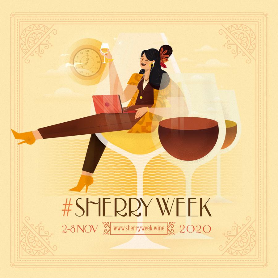 Sherry week confinamiento