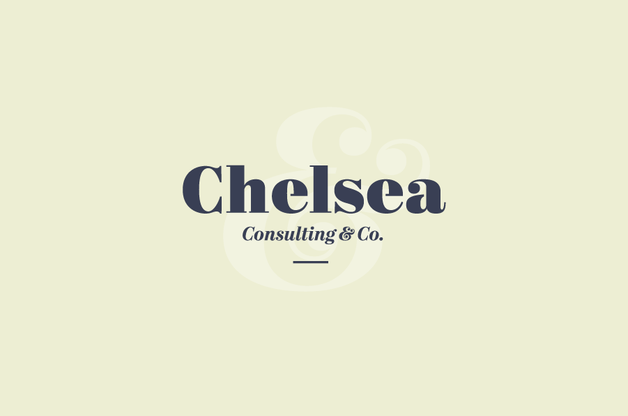Logotipo Chelsea consulting & co.