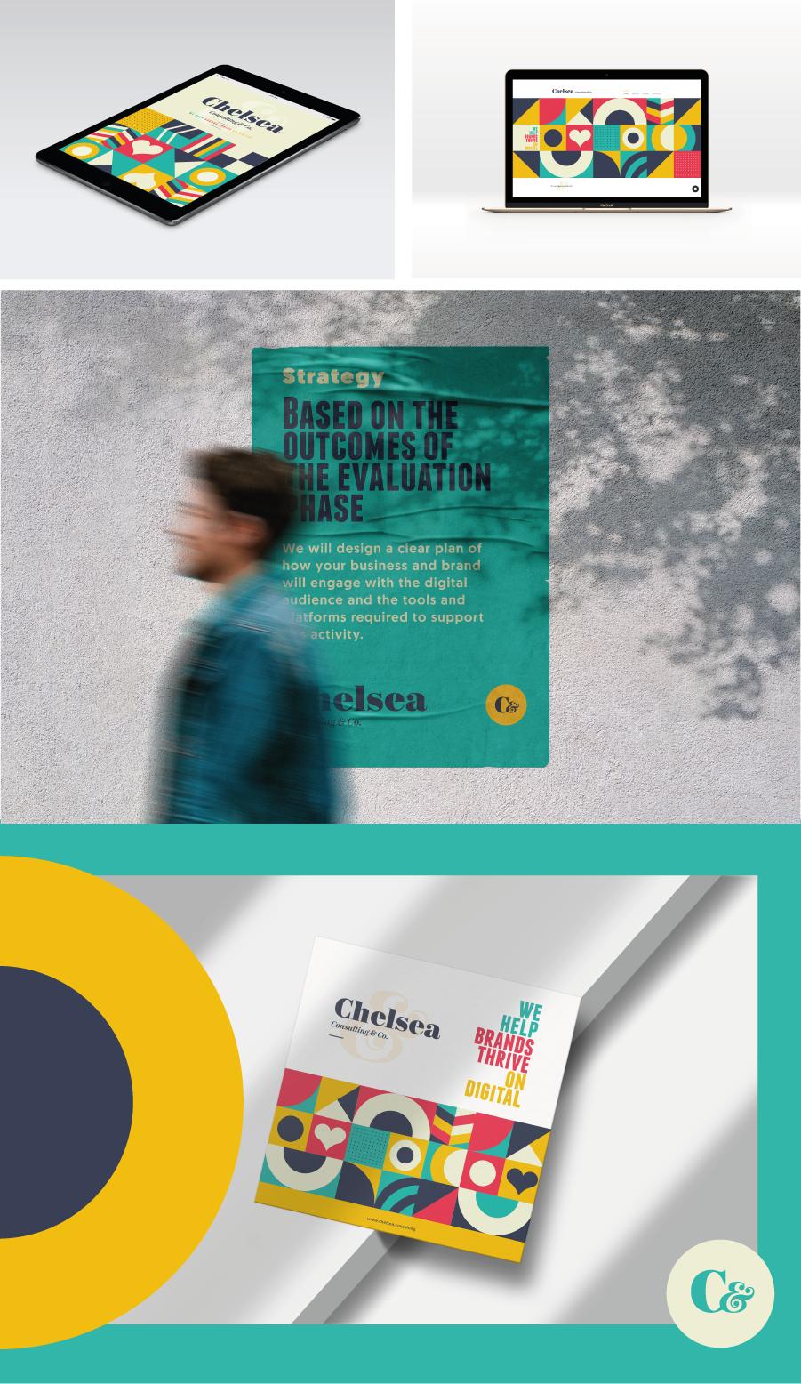 Póster publicitario Branding