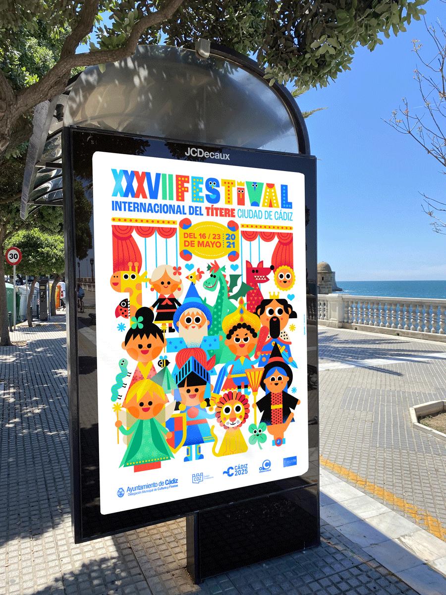 Festival títeres y martionetas cadiz 2021